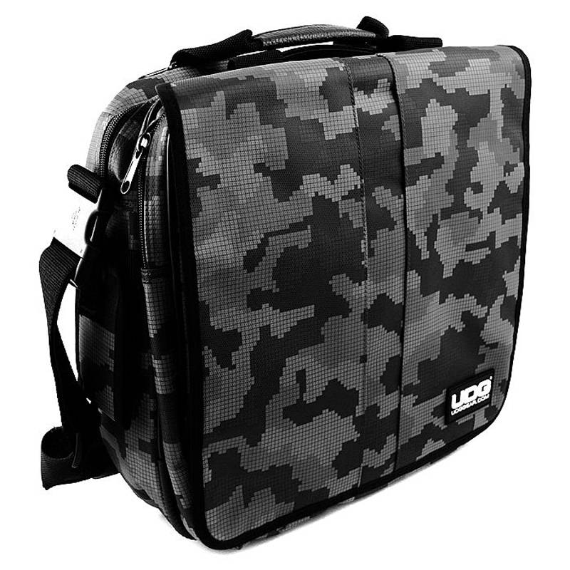Сумка для пластинок UDG CourierBag Deluxe Digital Camo Grey