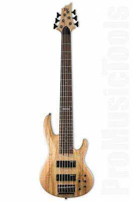 ESP LTD B-206/SM/NS бас-гитара, ясень/клен