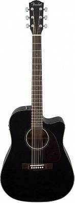 Fender CD-140SCE BLK электроакустическая гитара
