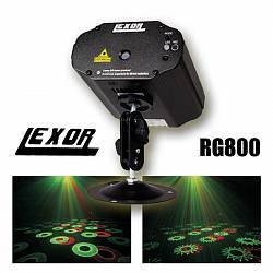 LEXOR RG800 Mini Laser Light RG